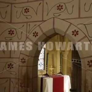 ENGLAND – CIRCA 2011: Alter inside Windsor Castle. - Actor Stock Footage