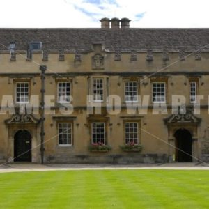 ENGLAND – CIRCA 2011: Courtyard. - Actor Stock Footage