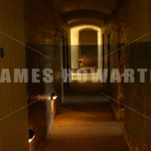 ENGLAND – CIRCA 2011: Dongon Jail hallway. - Actor Stock Footage