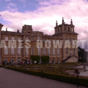 ENGLAND – CIRCA 2011: Fountains at Howard Castle. - Actor Stock Footage