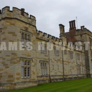 ENGLAND – CIRCA 2011: Front angle of Penshurst Place Castle. - Actor Stock Footage