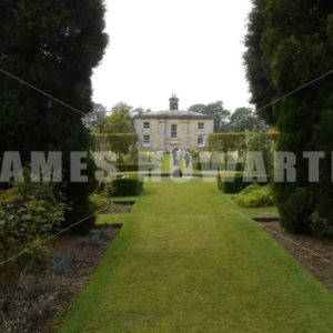 ENGLAND – CIRCA 2011: Howard Castle garden. - Actor Stock Footage
