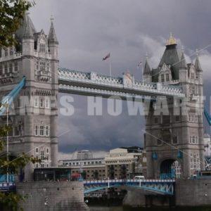 ENGLAND – CIRCA 2011: London Bridge. - Actor Stock Footage