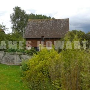 ENGLAND – CIRCA 2011: Old english cottage barn. - Actor Stock Footage