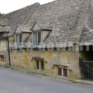 ENGLAND – CIRCA 2011: Old english stone house. - Actor Stock Footage