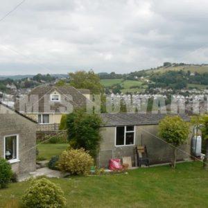 ENGLAND – CIRCA 2011: Pan across old english village. - Actor Stock Footage
