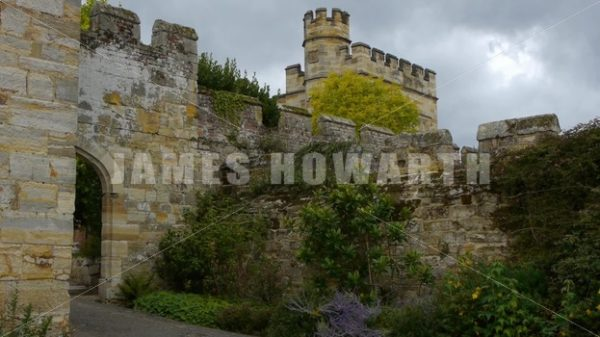 ENGLAND – CIRCA 2011: Penshurst Place. - Actor Stock Footage