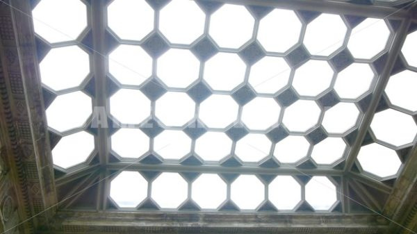 ENGLAND – CIRCA 2011: Plates and Skylights in Howard Castle. - Actor Stock Footage