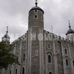 ENGLAND – CIRCA 2011: Tilt down to Windsor Castle inside building. - Actor Stock Footage