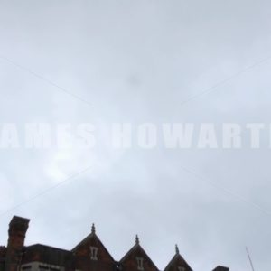 ENGLAND – CIRCA 2011: Tilt down to old english institution. - Actor Stock Footage