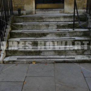 ENGLAND – CIRCA 2011: Tilt up to english door. - Actor Stock Footage