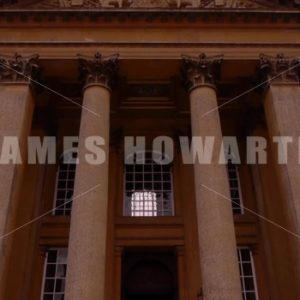 ENGLAND – CIRCA 2011: Tilt up to the Front of Howard Castle. - Actor Stock Footage