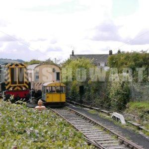 ENGLAND – CIRCA 2011: Train - Actor Stock Footage