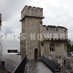 ENGLAND – CIRCA 2011: Windsor Castle under construction. - Actor Stock Footage