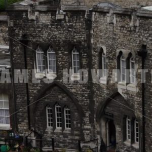 ENGLAND – CIRCA 2011: Windsor Castle wall quarters. - Actor Stock Footage