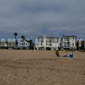 Los Angeles – circa 2018: Seal beach houses. - Actor Stock Footage