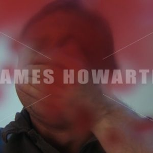 Point of view of blood coming from mans nose. - Actor Stock Footage